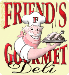 Friend's Gourmet Deli located in Bellerose, NY Logo
